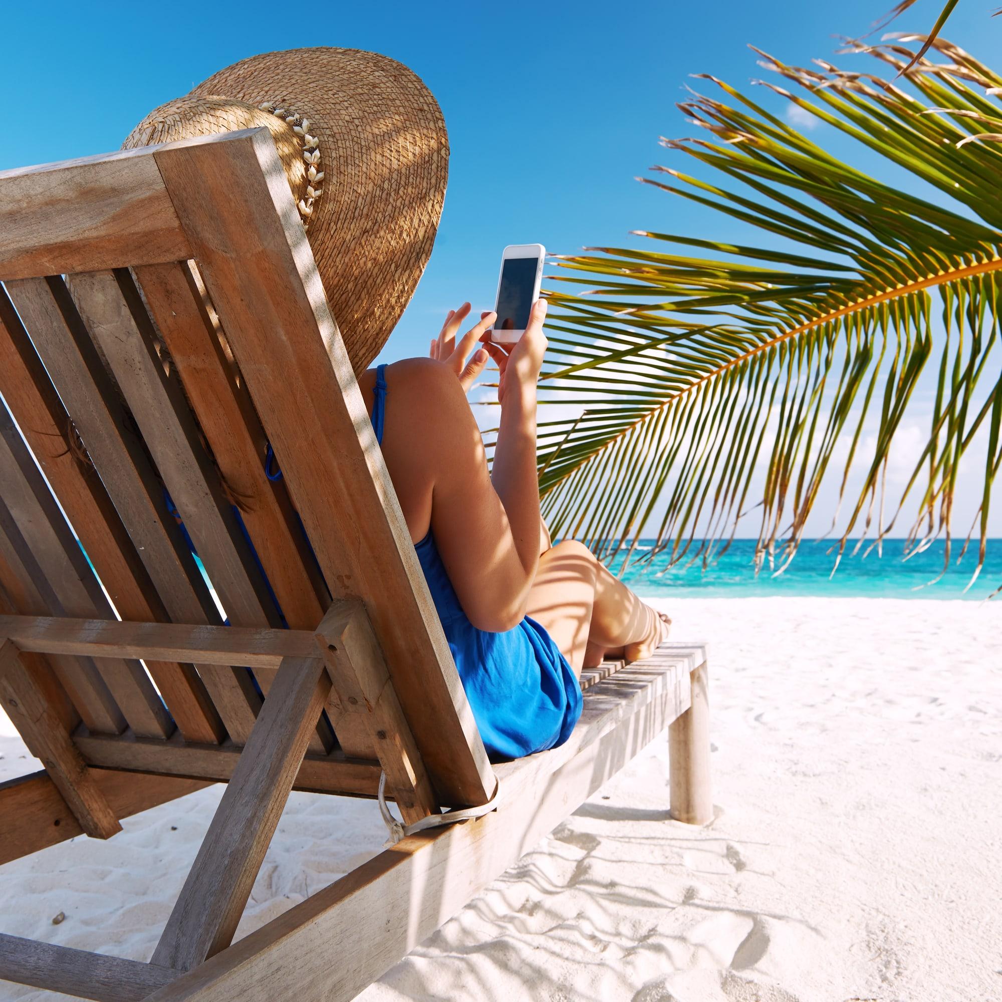 social media vacation