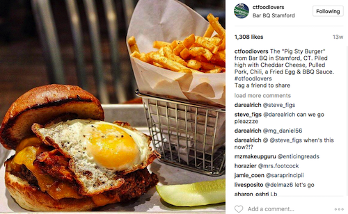 Instagram Marketing Tips, CT Food Lovers