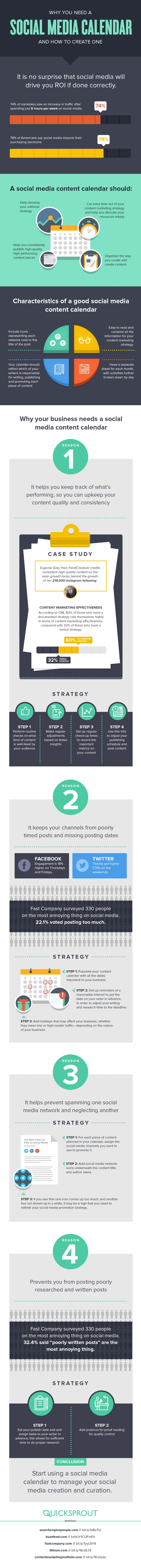 Social_Media_Calendar infographic
